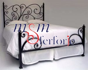 020 Wrought Iron Bed Head
