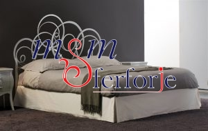 012 Wrought Iron Bed Head