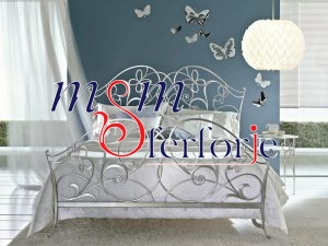 013 Wrought Iron Bed Head