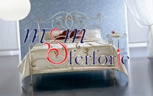 015 Wrought Iron Bed Head