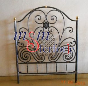014 Wrought Iron Bed Head