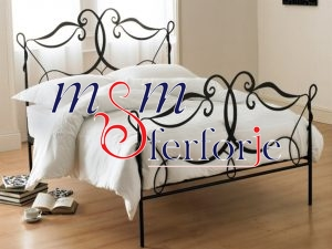 016 Wrought Iron Bed Head