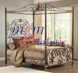 002 Wrought Iron Bed Head